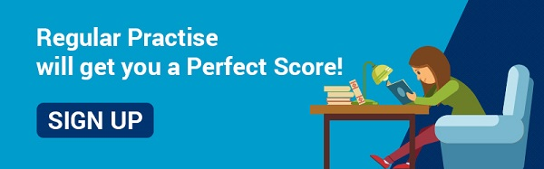 Regular Practise will get you a Perfect Score