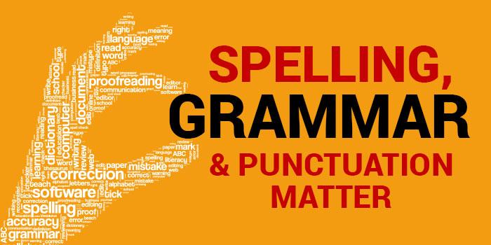 spelling matters